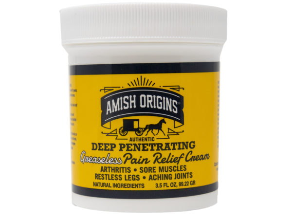 Greaseless Pain relief cream