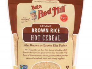 Creamy Brown Rice Farina