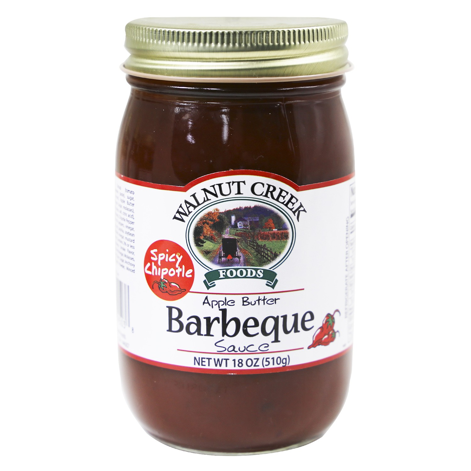 Chipotle Apple Butter BBQ Sauce