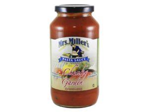 chunky garden pasta sauce