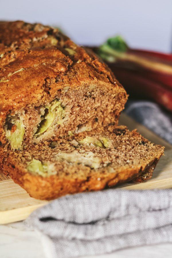 Cinnamon Rhubarb Bread 2