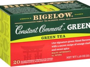 Constant Comment Tea green