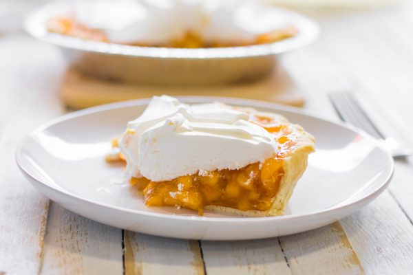 Fresh Peach Pie 8 scaled