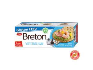 Gluten Free White Bean Crackers