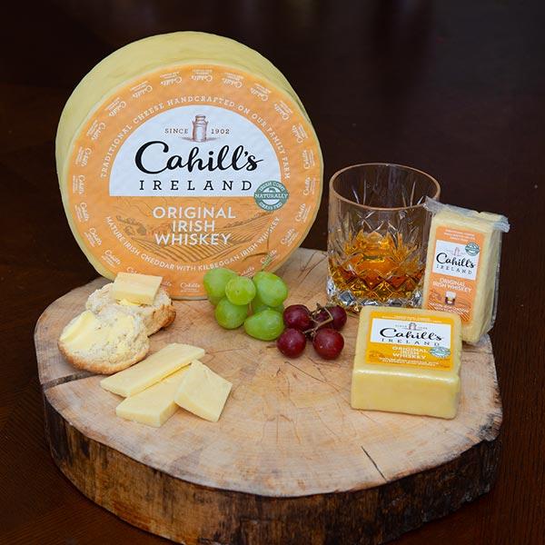 Irish Whiskey Cheddar Cheese