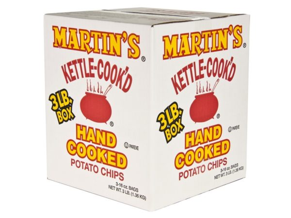 Kettle Cooked Potato Chips box