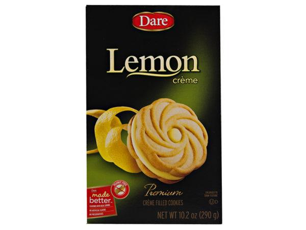 Lemon Creme Cookies