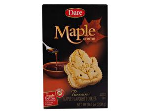 Maple Leaf Creme Cookies