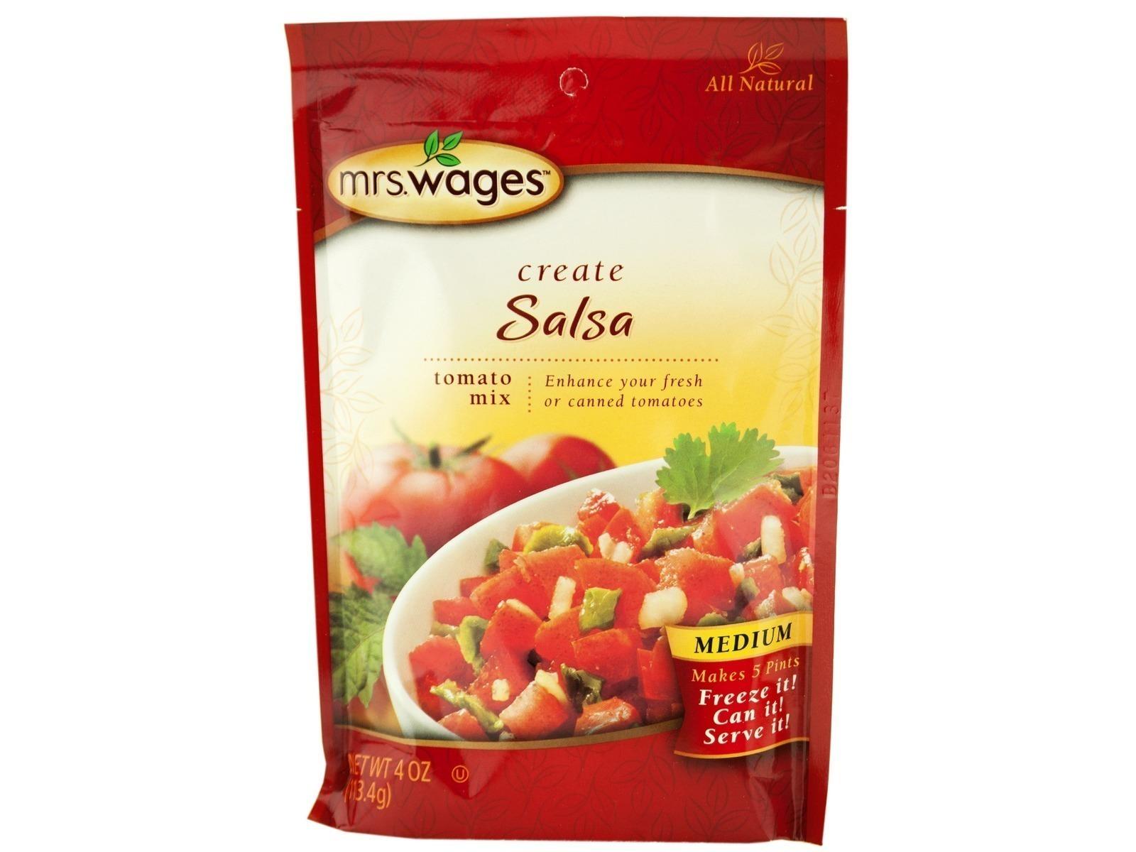 Medium Salsa Mix