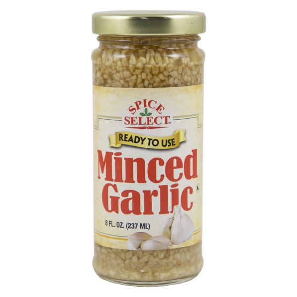 Minced Garlic in water