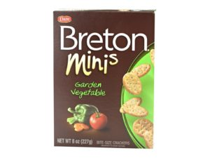 Mini Garden Vegetable Crackers