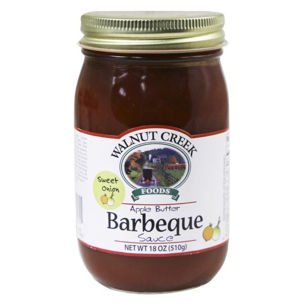 Onion Apple Butter BBQ Sauce