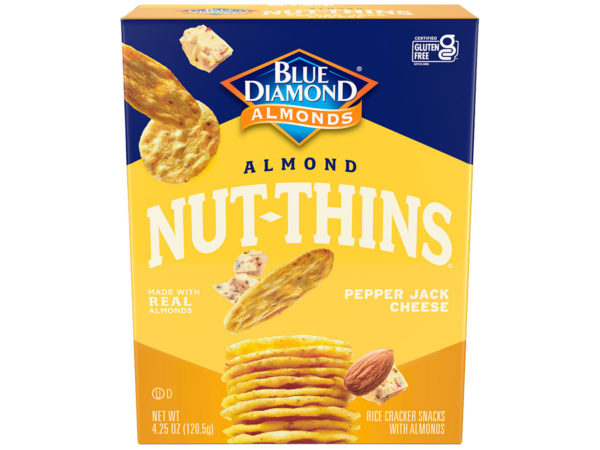 Pepperjack Cheese Nut Thins
