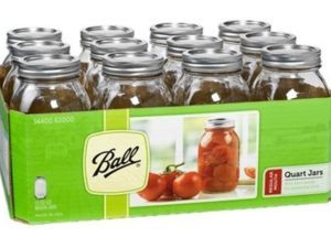 Regular Quart Jars