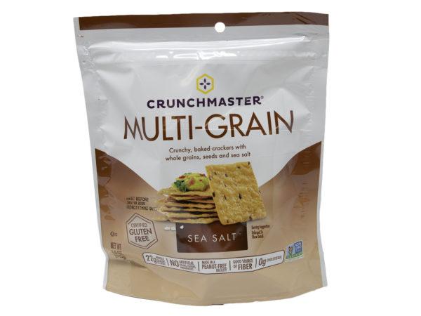 sea salt multi grain cracker