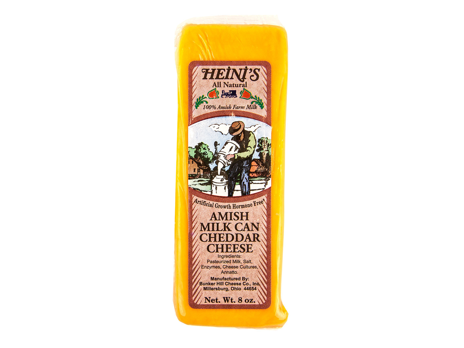 Yellow Cheddar Cheese 8oz