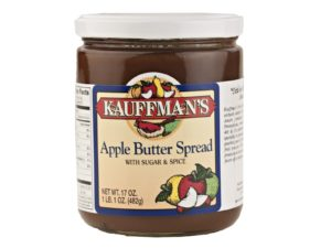 Apple Butter with sugar and spice