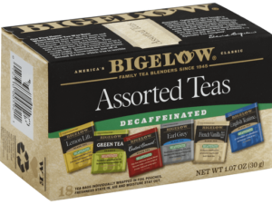 Assorted Decaf Tea