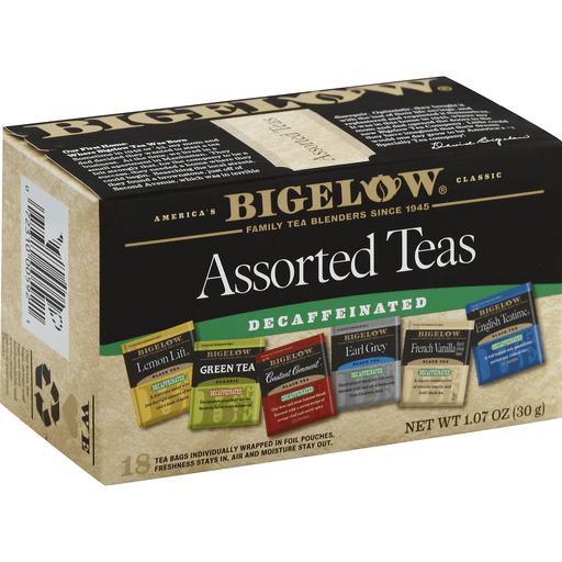 Assorted Decaf Tea