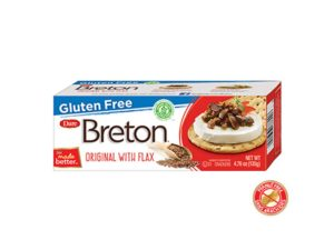GF Breton Crackers with flax