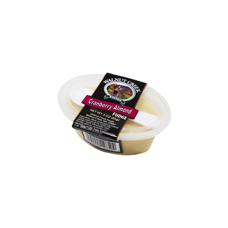 Cranberry Almond Fudge Cup
