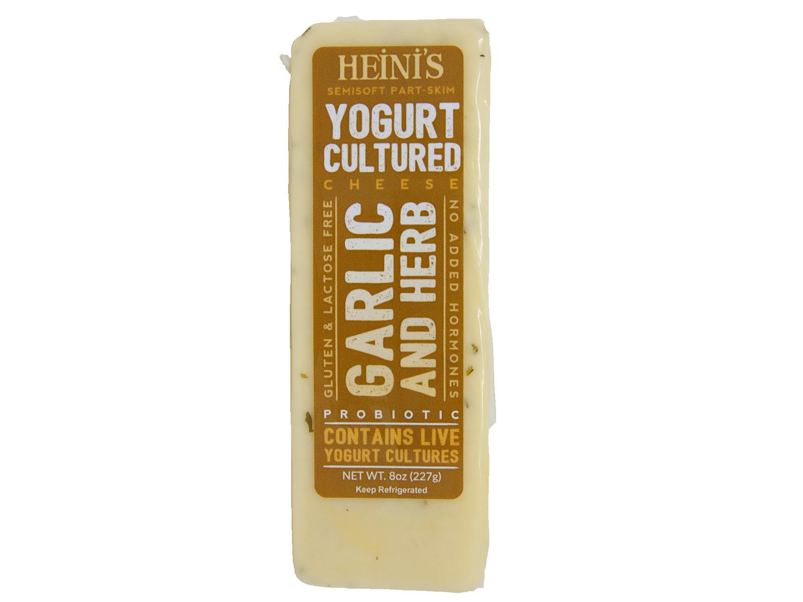 Garlic and Herb Yogurt Cheese 8 ounce