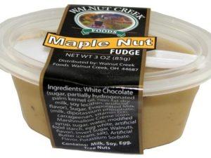 Maple Nut Fudge Cup