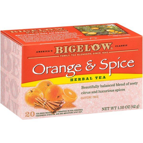 orange & spice Tea