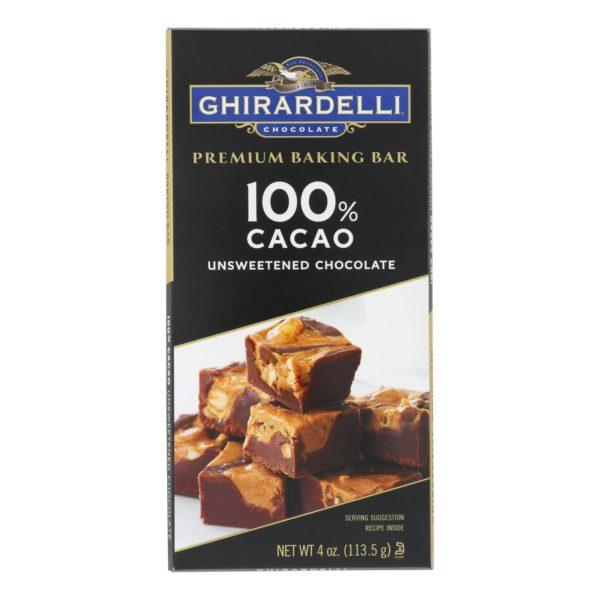 Unsweetened Chocolate Baking Bar